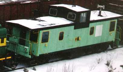 Smurfit-Stone's caboose, Bathurst
