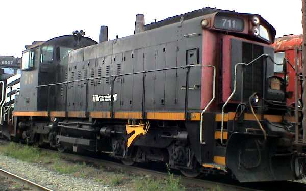 UPM-Kymmene's locomotive, Miramichi