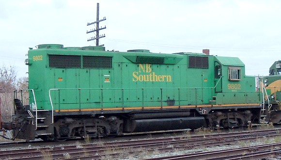 NBSR 9802 at McAdam