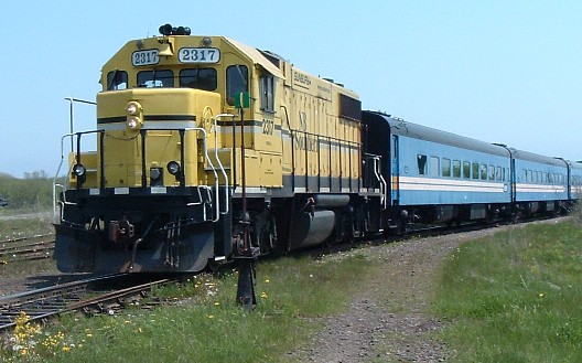 NB Southern business train, Bayshore, 2005/06/04