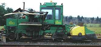 NBSR maintenance-of-way equipment, Fredericton Junction