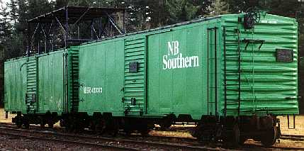 NBSR maintenance-of-way, Fredericton Junction
