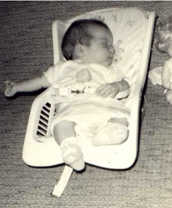 Me, a few days old